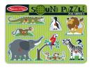 Zoo Animals Sound Puzzle - 8pc