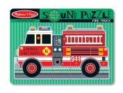 Melissa & Doug Sound Puzzles and Blocks Fire Truck Sound Puzzle