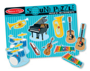Musical Instruments Sound Puzzle - 8pc