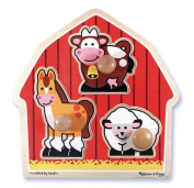 Barn Animals Jumbo Knob Puzzle