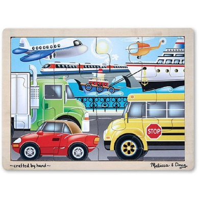 Melissa & Doug On the Go (Vehicles) Jigsaw Puzzle (12 Piece)