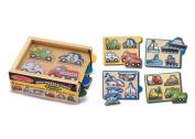 Mini Puzzle Pack Vehicles - 4set