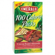 100 Calorie Pack Dark Chocolate Cocoa Roast Almonds, .1860ml Packs, 7 Packs/Box - Sold As 1 Box