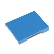 Trodat T4727 Dater Replacement Pad, 1 5/8 x 2 1/2, Blue