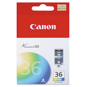 Canon 1511B002 Original Ink Cartridge, Cyan, Magenta, Yellow