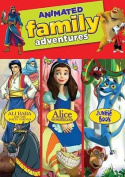 Animated Family Adventures Triple Feature - Jungle Book / Alice in Wonderland / Ali Baba and The Forty Thieves [Region 1]