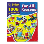 Sticker Book, For All Reasons, 1,008/Pack