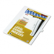 "80000 Series Legal Index Dividers, Side Tab, Printed ""14"", 25/Pack"