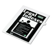 "80000 Series Legal Index Dividers, Side Tab, Printed ""33"", 25/Pack"