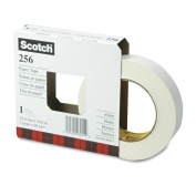 3M 256-1 Scotch 256 Printable Flatback Paper Tape, 24x 55, 7.6cm Core, White