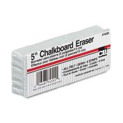 Charles Leonard 74555 13cm Chalkboard Eraser, Wool Felt, 5w x 2d x 1h