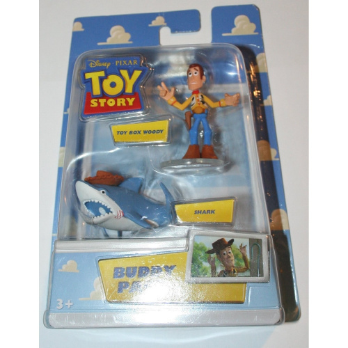 Shark Toy Box : Toy story buddy pack box woody shark shipping is