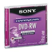 Mini (8cm) DVD-RW Disc, 1.4GB, 2x, w/Jewel Case, Silver