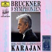 Bruckner: 9 Symphonies  [9 Discs]