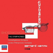 Shostakovich: The Symphonies  [11 Discs]
