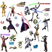 Star Wars Clone Wars Peel and Stick Wall Applique