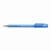 Paper Mate 9660131 FlexGrip Ultra Ballpoint Stick Pen Blue Ink Fine Dozen