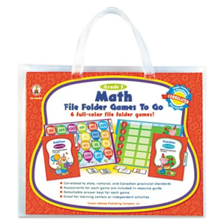 File Folder Games-To-Go, Mat, Third Grade