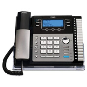 ViSYS 25424RE1 Four-Line Phone with Caller ID