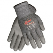 MCR Safety N9677XL Ninja Force Polyurethane/Dyneema 13-Gauge Gloves, Grey, X-Large, 1-Pair