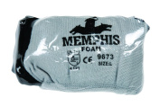 Memphis Flex Seamless Nylon Knit Gloves, Large, Blue/Gray, Pair