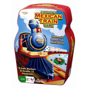 Mexican Train Dominoes Tin