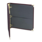 Samsill Classic Collection Executive Presentation Binders, 3 Ring Binder 5.1cm , Burgundy