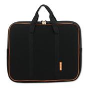 Laptop Sleeve, Neoprene, 15 1/5 x 1 1/4 x 11, Black