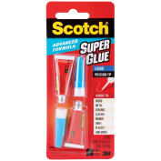 Scotch Single Use Super Glue, 1/2 Gram Tube, Liquid