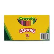 Large Crayons, 16 Colors/Box