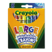 Crayola Washable Crayons, Large.