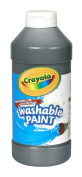 . Washable Paint, Black, 470ml