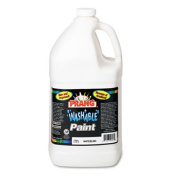 Washable Paint, White, 1 gal