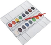 Professional Watercolors,16 Assorted Colors