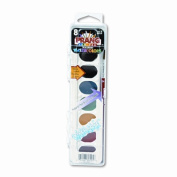 Washable Watercolors, 8 Assorted Colors