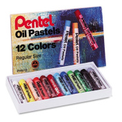Oil Pastel Set With Carrying Case,36-Color Set, Assorted, 36/Set