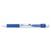 Pentel AZ127C .e-Sharp Automatic Pencil- 0.70 mm- Blue Barrel