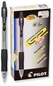 Pilot G2 Retractable Premium Gel Ink Roller Ball Pens, Ultra Fine Point, Black Ink, Dozen Box