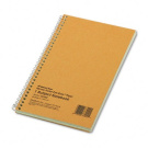 Subject Wirebound Notebook, Narrow Rule, 5 x 7-3/4, Green, 80 Sheets