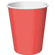 Creative Converting 192631 Classic Red 9 oz. Paper Cups