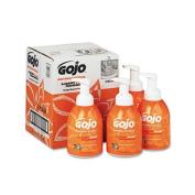 GOJO 5762-04 Luxury Foam Antibacterial Handwash- Orange Blossom- 18 oz Pump