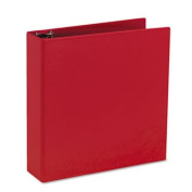 Avery Durable Binder with 5.1cm Slant Ring, Holds 22cm x 28cm Paper, Red, 1 Binder