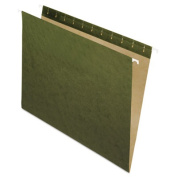 Esselte Corporation ESS81600 Pendaflex 25Ct Essentials Hanging File Folders Without Tab Green