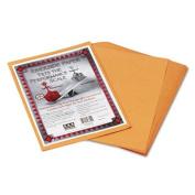 Pacon 103640 Riverside Construction Paper, 34kg., 9 x 12, Butterscotch, 50 Sheets/Pack