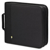 CD/DVD Expandable Binder, Holds 24 Disks, Black
