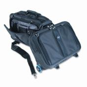 Contour Roller Laptop Case, Nylon, 17-1/2 x 9-1/2 x 13, Black