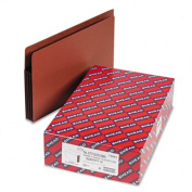 3 1/2 Inch Accordion Expansion File PocketsStraight Tab, Legal, Brown, 10/Box
