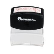 Universal Message Stamp, Posted, Pre-Inked/Re-Inkable