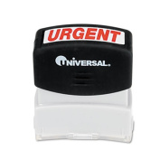 Universal Message Stamp, Urgent, Pre-Inked/Re-Inkable