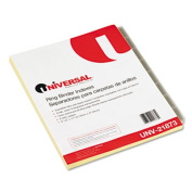 Economical Insertable Index, Clear Tabs, 8-Tab, Letter, Buff, 6 Sets/Pack